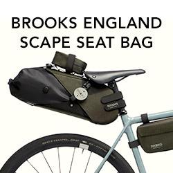 Découvrez la sacoche de selle BROOKS ENGLAND