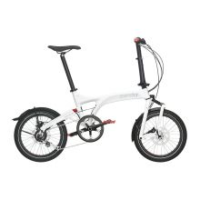 Vélo Pliant Birdy City Confort Blanc/Rouge [0]