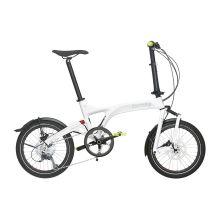 Vélo Pliant Birdy DualDrive Blanc/Vert [0]